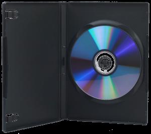 DVD in box