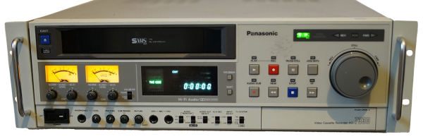 VHS & S-VHS Transfer and Conversion