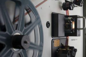 Cine film scanning